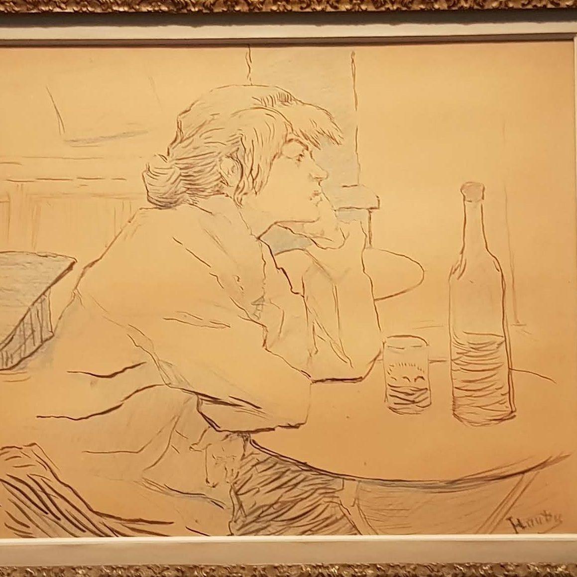 Henri de Toulouse-Lautrec - Gueule de Bois - Paris je taime quand même