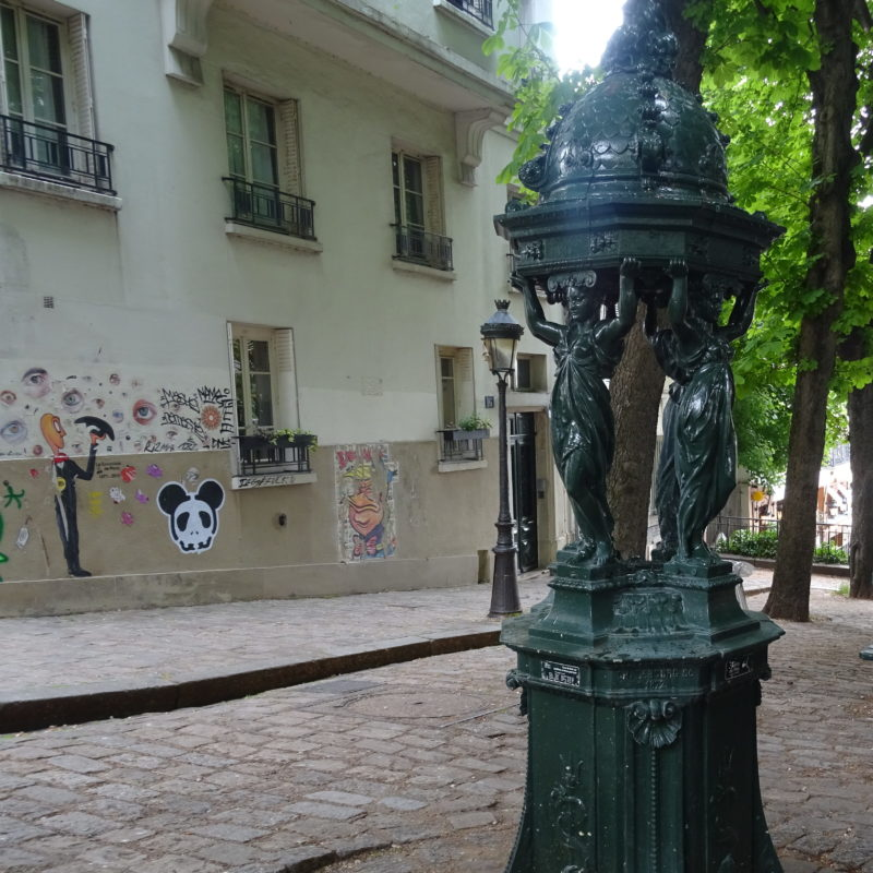 Fontaine Wallace montmartre